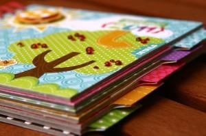 Colorful Summer Mini Album by Birgit Koopsen for Scrapbook Adhesives by 3L Blog