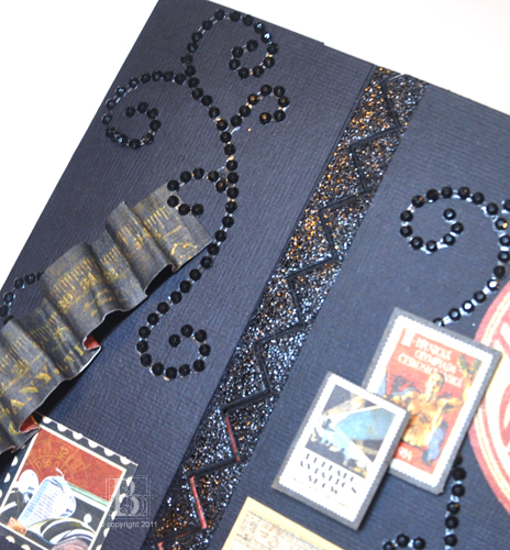 Sparkly Photo Corners on a Gate Fold Card by Beth Pingry for Scrapbook Adhesives by 3L