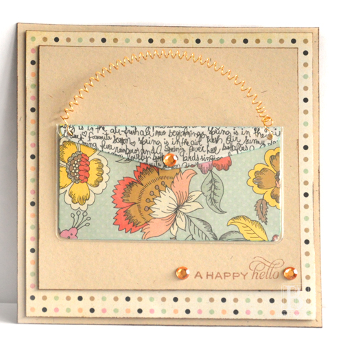 Purse Card Tutorial by Beth Pingry