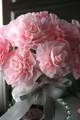 Crepe Paper Flowers by Vicki Chrisman for Scrapbook Adhesives by 3L