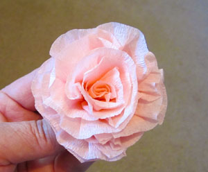 Crepe Paper Flowers with E-Z Runner, by Vicki Chrisman for Scrapbook Adhesives by 3L