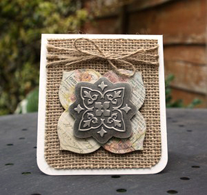 Mini Gift Card Holder by Christine Emberson for Scrapbook Adhesives by 3L