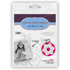 Creative Photo Corners Ivory 108