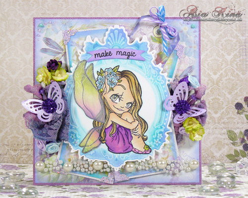 Fairy Girl Some Odd Girl & Scrapbook Adhesives by 3L_by Asia King