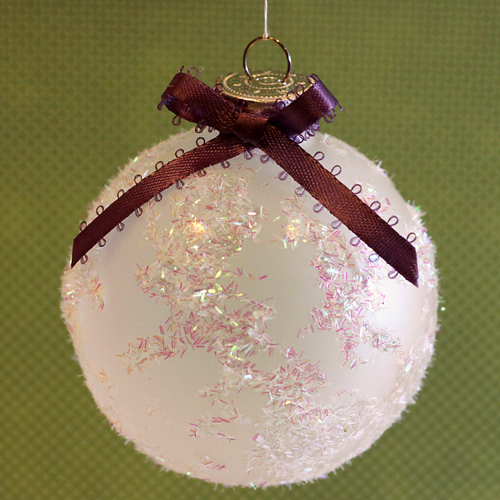 DIY Holiday Ornaments Featuring Adhesive Sheets and Designer Shapes by Angela Ploegman