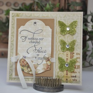 Beth Pingry Butterflies Card 1
