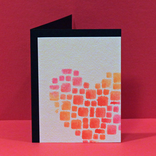 Mosaic Stamping Love You Card - Angela Ploegman for Scrapbook Adhesives by 3L