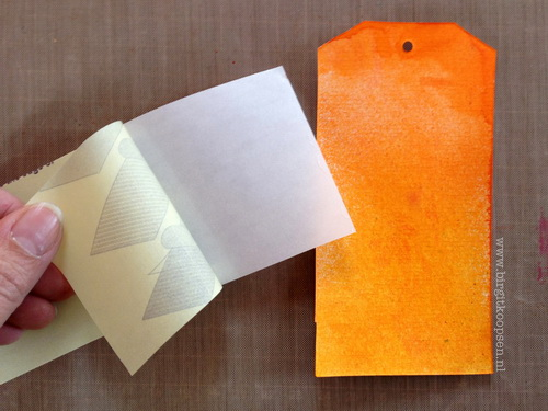 Adhesive Sheets - Embossed Texture - step 2 - Birgit Koopsen for SAby3L_resize