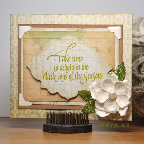 Beth Pingry LIttle Joys Card
