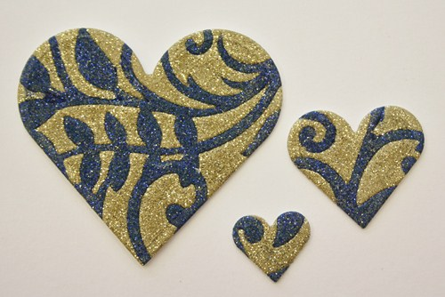 Love and Glitter by Christine Emberson for Scrapbook Adhesives by 3L