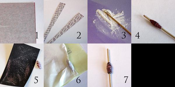 DIY Paper Bead Jewelry Tutorial by Angela Ploegman