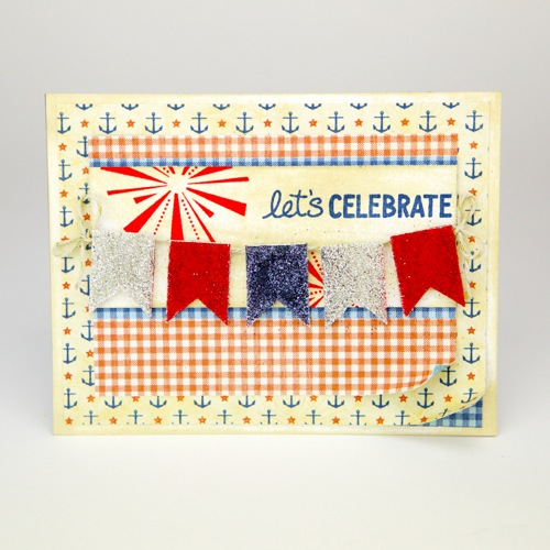 Independence Day card + tutorial by Tiffany Johnson for Scrapbook Adhesives by 3L