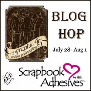 Blog Hop Badge 3L - Graphic 45
