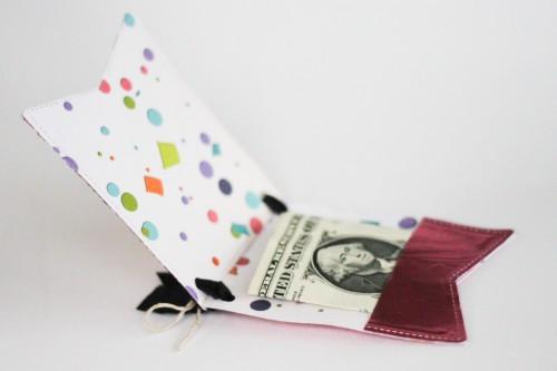 Metal Money or Gift Card Holder