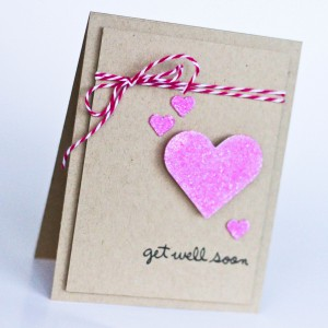 Get Well Soon Card by Latisha Yoast for Scrapbook Adhesives by 3L