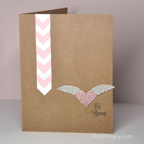 Beth Pingry Pink October Card