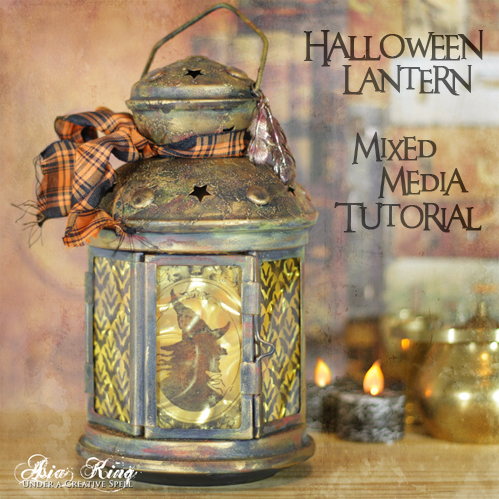 Halloween Lantern Tutorial by Asia King for  Scrapbook Ahesives by 3L