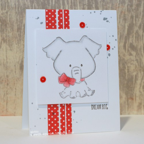 Art Impressions Blog Hop Dream Big Card by AJ Otto