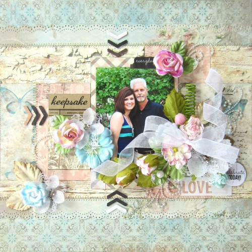 Love Layout by Erica Houghton with E-Z Runner Value Pack