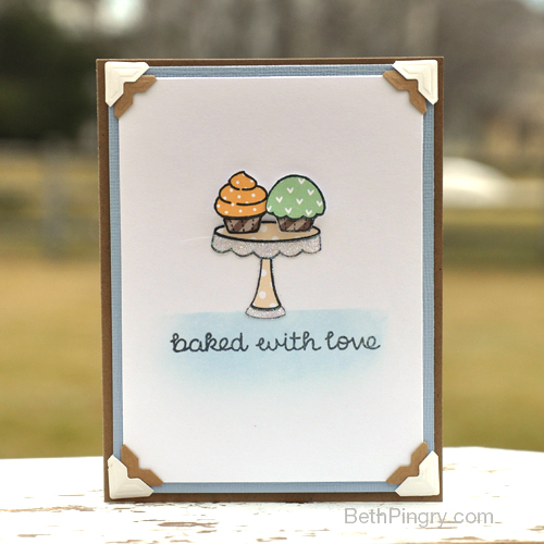 Baked with Love Card by Beth Pingry