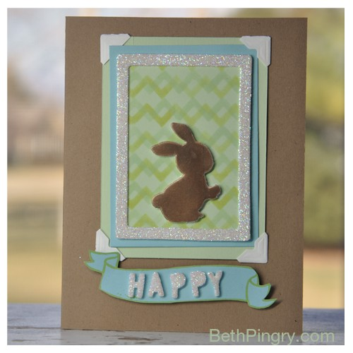 Beth Pingry - Easter Bunny Card