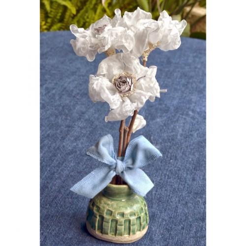 Organza Flower Tutorial by Donna Salazar