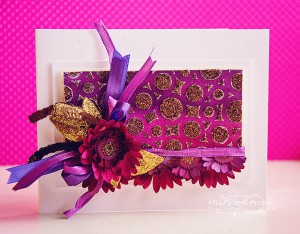 purpe flower