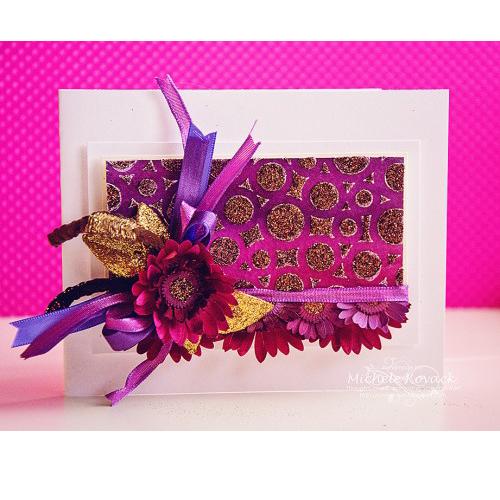 Purple Flowers by Michele Kovack