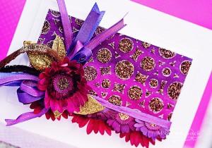 purple flower two