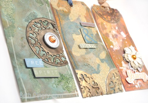 Artsy Tags by Beth Pingry