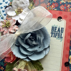 Beautiful Day Card with E-Z Runner by Erica Houghton