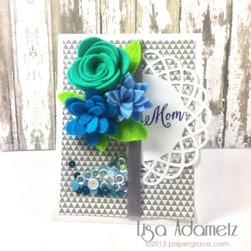 Mom's Day Card by Lisa Adametz for Scrapbook Adhesives by 3L