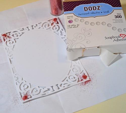 MargieHiguchi 3DFoamShapeWeddingEnsemble Card Step 4