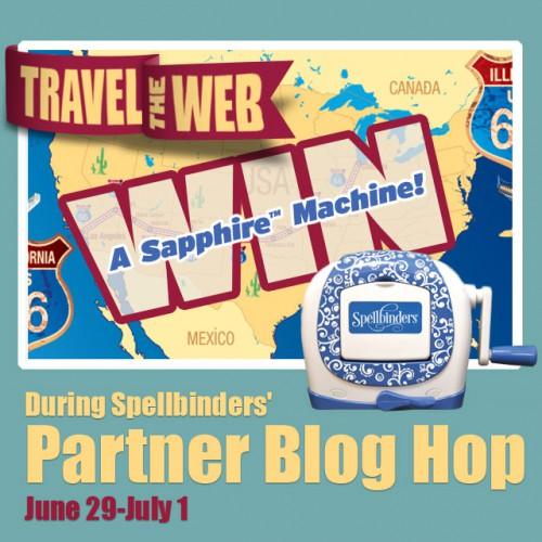 Spellbinders Be Free Partner Blog Hop