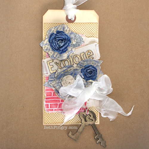 Beth Pingry - Explore Tag for 3L Spellbinders Hop
