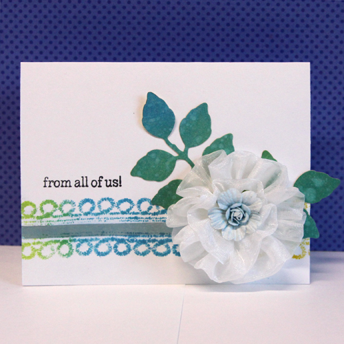 TUTORIAL - Turn Your Trim into Stamps! by Angela Ploegman