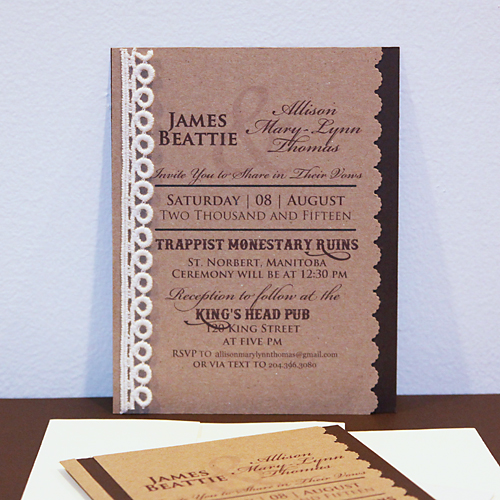 Wedding Invitation - From Simple to Stunning! by Angela Ploegman