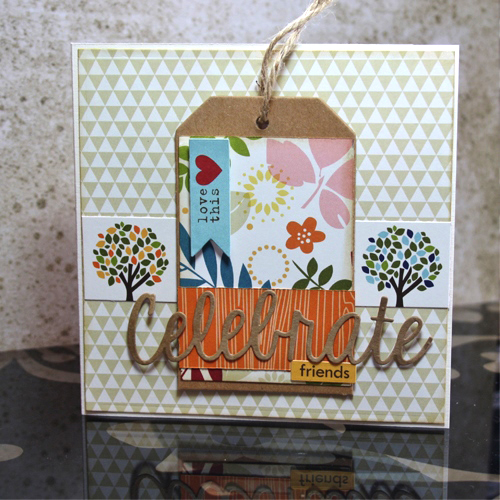 Notecard Holder by Christine Emberson for Scrapbook Adhesives by 3L