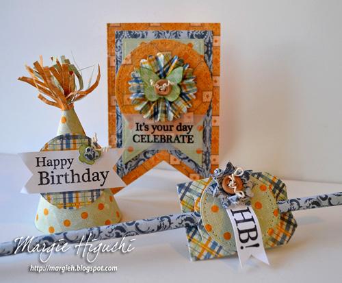 Happy Birthday Ensemble Tutorial by MargieHiguchi