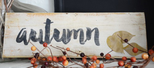 Autumn Sign by Laurel Seabrook for Scrapbook Adhesives by 3L & Spellbinders Partner Blog Hop