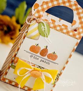 Fall treat bags by Michele Kovack