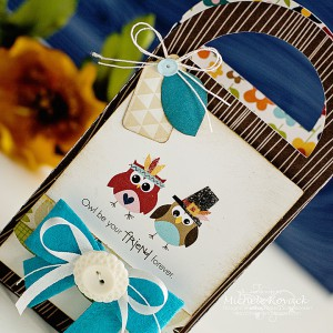 Thanksgiving -Fall treat bags by Michele Kovack