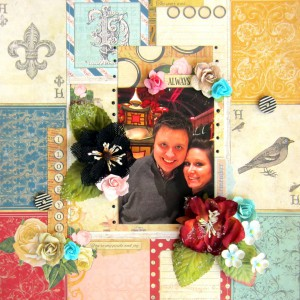 Remember Scrapbook Layout with E-Z Runner Grand