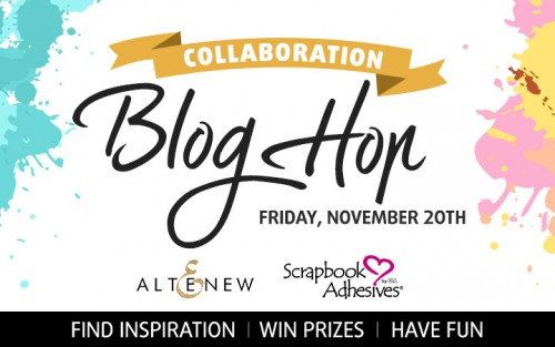 Blog Hop - Scrapbook Adhesives by 3L & Altenew