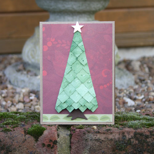 Creative Photo Corner Christmas Tree by Christine Emberson for Scrapbook Adhesives by 3L