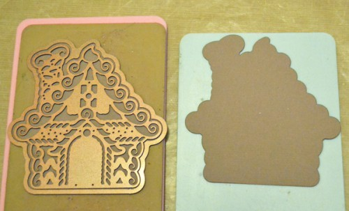 MargieHiguchi GingerbreadHouseShapedCard Step01