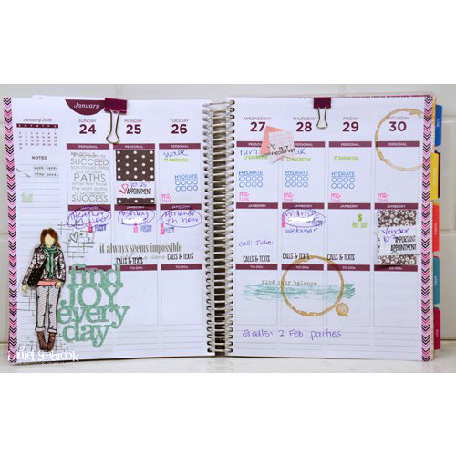 Planner Pages by Laurel Seabrook