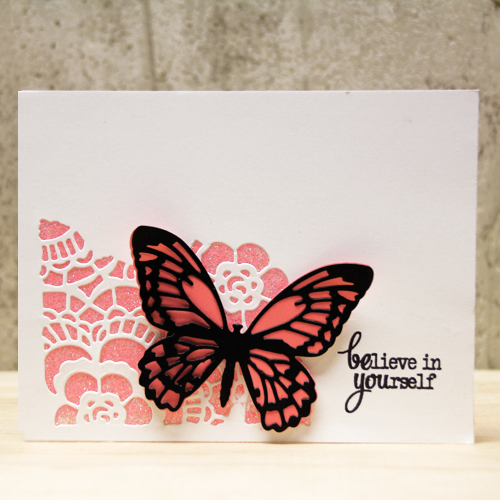 Believe in Yourself Card by Tami Mayberry for Scrapbook Adhesives by 3L