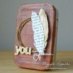 Girlie Grunge Tissue Tape Tin by Margie Higuchi