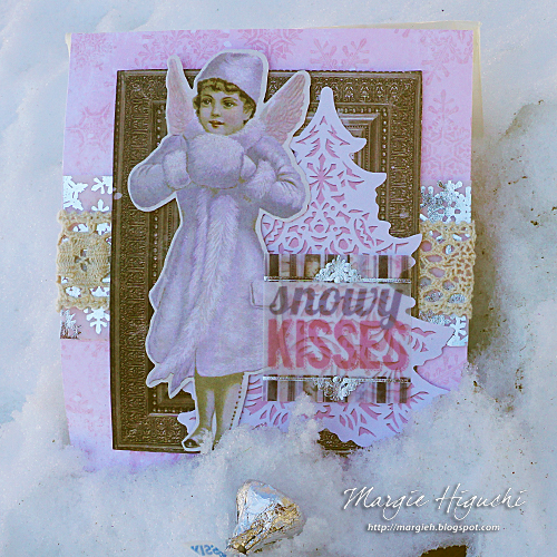 Snowy Kisses Gift Bag by Margie Higuchi for Scrapbook Adhesives by 3L